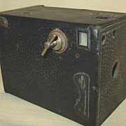 Ansco Box Camera Wood Inside for 4A Film Binghamton New York