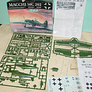 Tauro Model Macchi MC 202 Blitz WWII No.307 Italian & German Airplane Kit Plastic