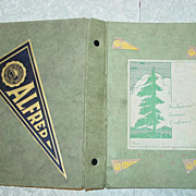 Alfred N.Y. High School 1941 Church School Hymnal for Youth Fun & Folk Songs