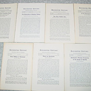 Rochester N.Y. History 7 Issues 1971-73 Flour Mill Humane Society Brighton Village Water