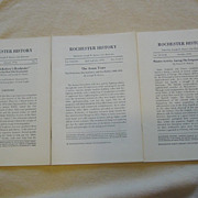 Rochester N.Y. History 3 Issues 1976 Iroquois Mission Arson Years Fire Protection