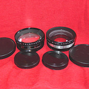 Yashikor Telephoto & Wide Angle Lenses for Yashica 35mm Electro Camera S706