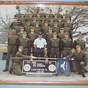 Lackland Air Force Base 1988 Basic Training Class Photograph Picture School Photo