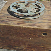 Victrola Motor Fishing Reel Phonograph Box Hand line Downrigger Boat Trolling as is