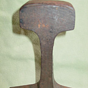 Railroad Train Track Anvil Blacksmith Mechanic Tinsmith Jeweler Gunsmith 5 pound Tool