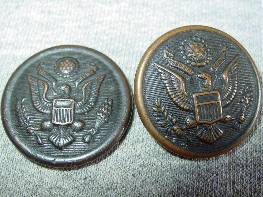 dating civil war buttons Medal detecting bullets and other civil war relics near a  metal detecting civil war railroad bullet suspender clips and  bullets, buttons, and.