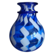 Magnificent Murano blue glass vase &quot; La Fenice&quot; by Archimede Seguso 1909-1999
