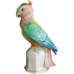 Vintage German Porcelain Parrot Table Lamp