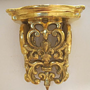 Carved Gilt wood wall bracket, Germany 18th century