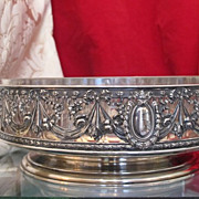 Antique silver and Niello jardiniere, about 1880