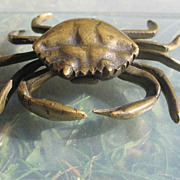 Beautiful Vienna Bronze crafted and cast as a crab, early 20th century