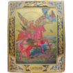 Russian Icon depicting the Archangel Michael, late 19th century