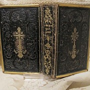 "Antique Italian prayer book ""L�asilo dell�anima"" dated at the 19th century"