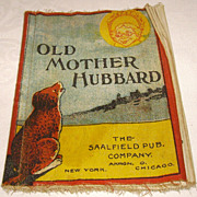 Saalfield &quot;Old Mother Hubbard&quot; Muslin Children's Book- Peter Rabbit Series