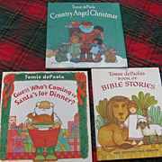 SALE First Edition Tomie DePaolas Country Angel Christmas