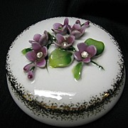 SALE Lefton New Old Stock Trinket Box