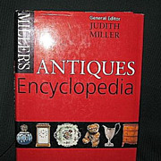 "SALE Miller""s Antiques Encyclopedia"