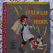 Miniature Lolly Pop Book &quot;The Little Miller and His Friends&quot;