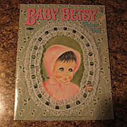 "SALE 1967 Whitman ""Baby Betsy"" Paper Doll Set"