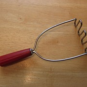SALE Androck Bullet Red Handled Catalin Masher