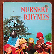 "SALE Golden Board Book ""Nursery Rhymes"""