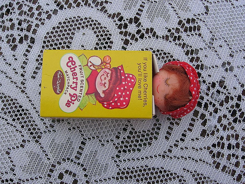 Fun World CHERRY PIE DOLL  Matchbox Baby  Dolly