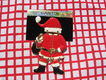 New Retired Don-Lin Jointed Santa Pin