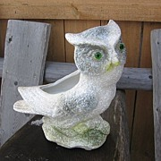 Shawnee Pottery Owl Planter