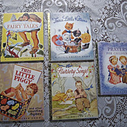 SALE Little Golden Book 50th Anniversary Set of Four