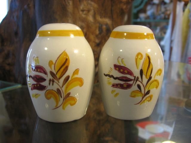Stangl Pottery Provincial Salt and Pepper Shakers