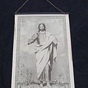 SALE Rare 1924 Paper Gospel Art  Calendar