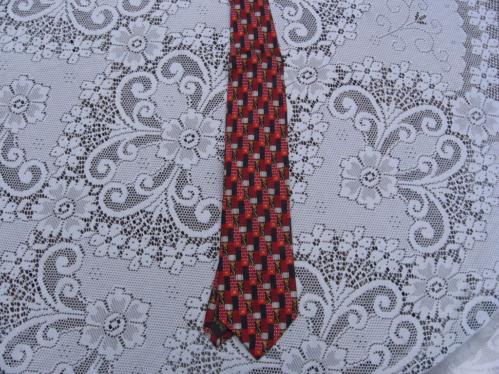 "New with Tags"" Richel Royal"" Silk Tie"