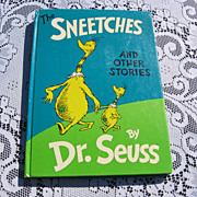 SALE 1961 Dr. Suess &quot;The Sneetches and Other Stories&quot;