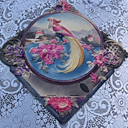 SALE Beautiful Large Peacock Paper Die Cut Calendar
