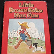 1945 &quot;Little Brown Koko has Fun&quot; Second Edition