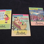 Rare &quot;Acrobat Shoes March Of Comics&quot; Premiums Set