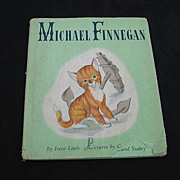 "1946 ""Michael Finnegan"" First Edition Children Book"