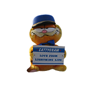 "SALE New 1978 Plush ""Garfield Messenger Of Love"""