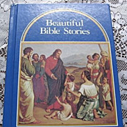 1964 Beautiful Bible Stories Children Book