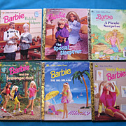 "SALE ""Barbie"" Little Golden Book Set"