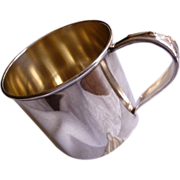 International Silver Co. silverplate baby cup