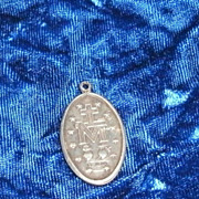 Charm or Pendant Catholic Religion Sterling Silver