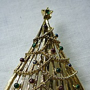Gerry�s Christmas Tree Pin Brooch