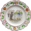 Creamware Reward Plate ~ For a Good Boy 1820