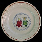 SALE Rare Double ABC Plate ~ CATS Jumping Rope