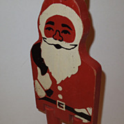 1930's Santa Claus Ramp Walker
