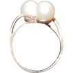 Vintage 10K Yellow Gold and Cultured Pearls Ring Size 5