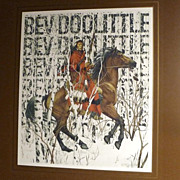 Bev Doolittle - The Art of Camouflage - Signed Art Gallery Poster