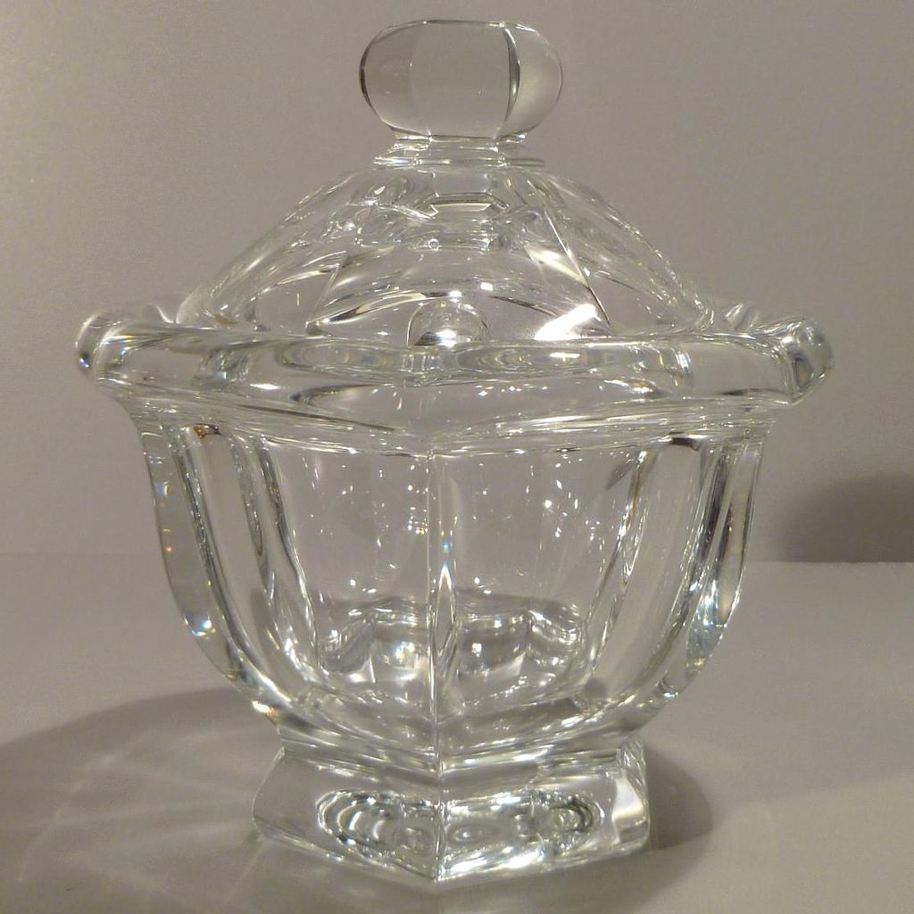 Baccarat Missouri Jam Jar - Leaded Crystal - France
