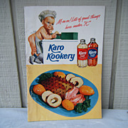 1940�s Karo Kookery Karo Syrup Recipe Booklet